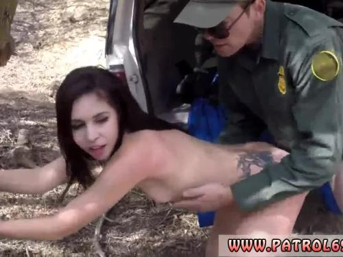 The daughter light cutie of crony and police man fuck mom banging the
